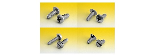 Hardened Stainless Steel Screws