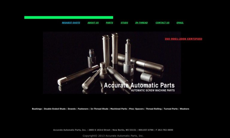 Accurate Automatic Parts, Inc.