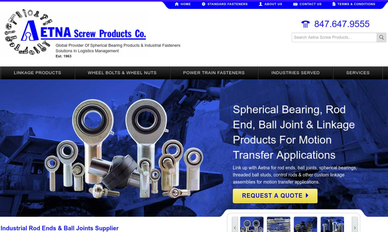 Aetna Screw Products Co.