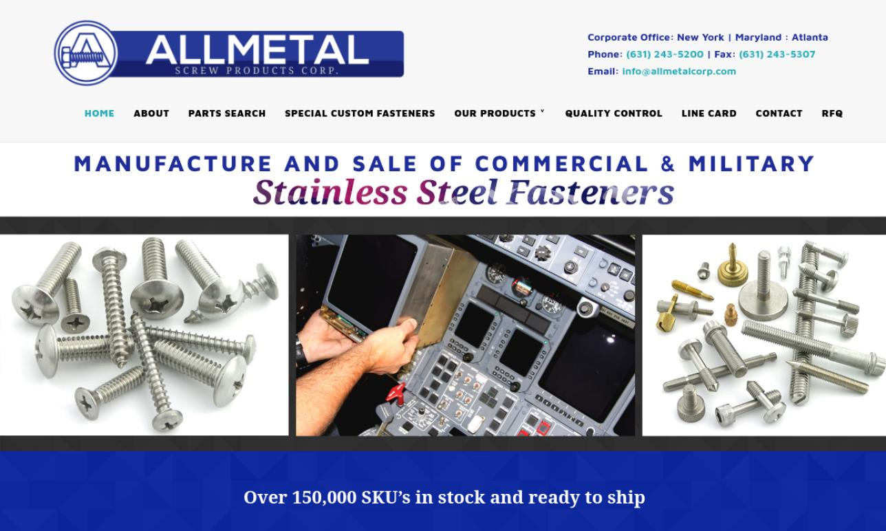 Allmetal Screw Products Corp.