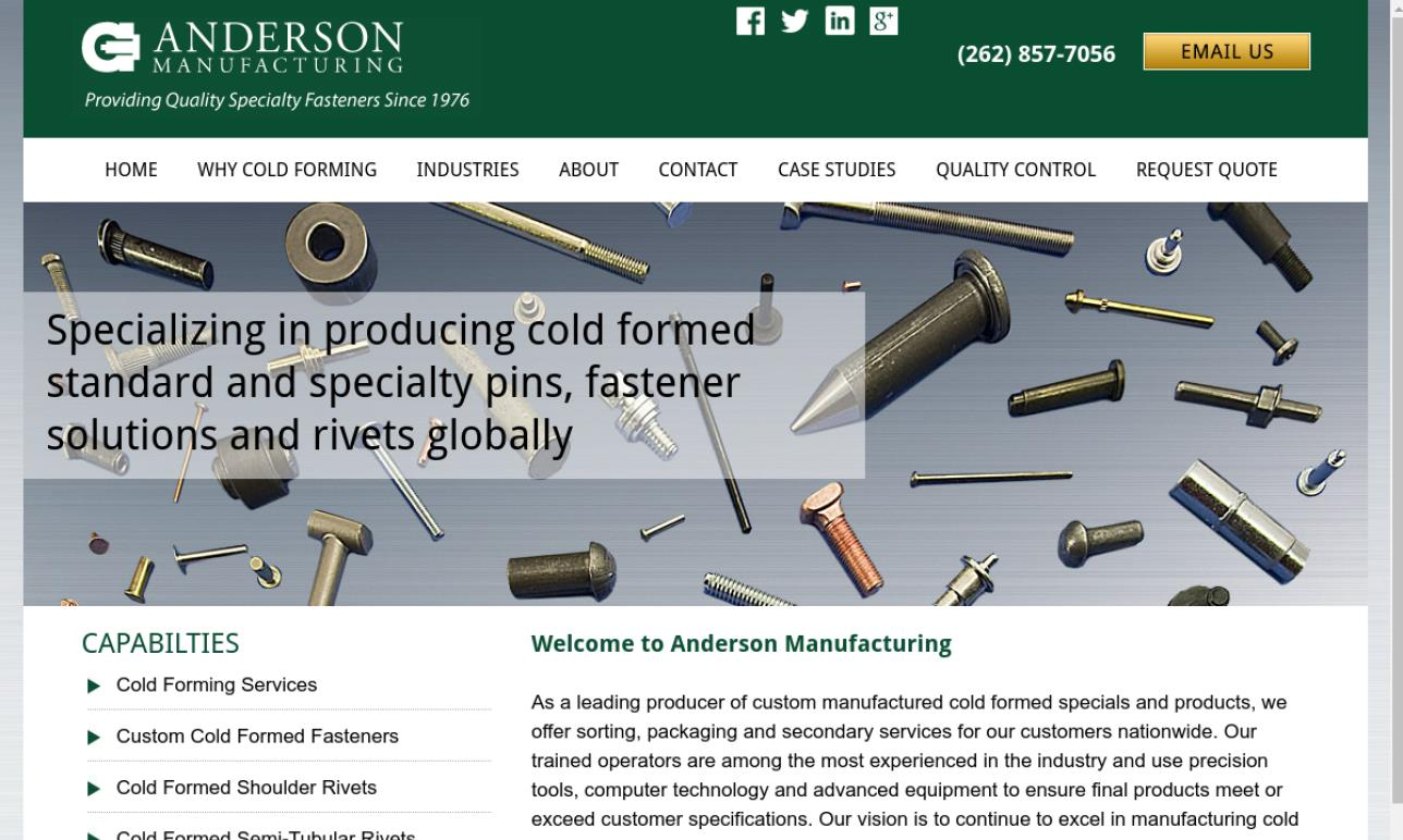 Anderson Manufacturing Company, Inc.