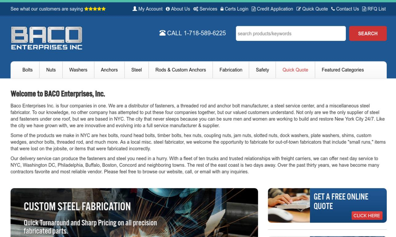 Baco Enterprises, Inc.