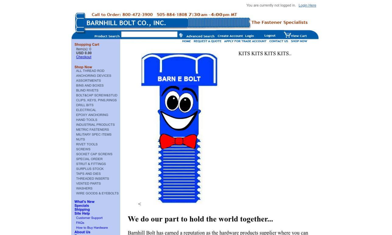 Barnhill Bolt Co., Inc.