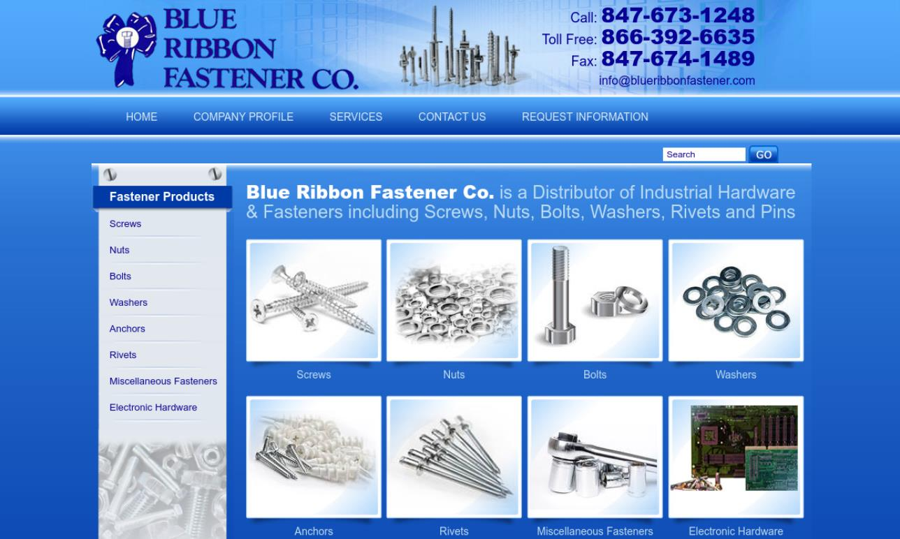 Blue Ribbon Fastener Co.