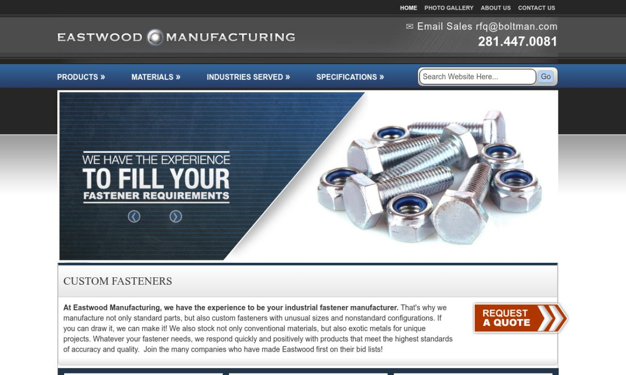 Eastwood Manufacturing