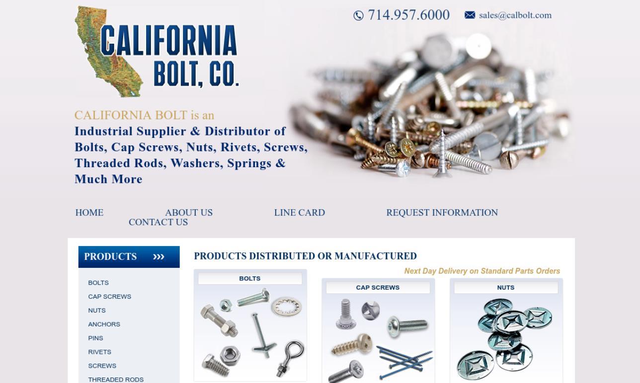 California Bolt Co.