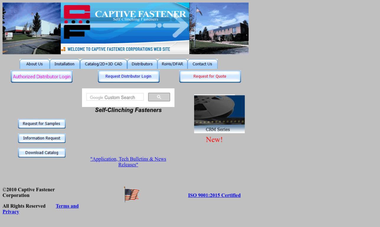 Captive Fastener Corporation
