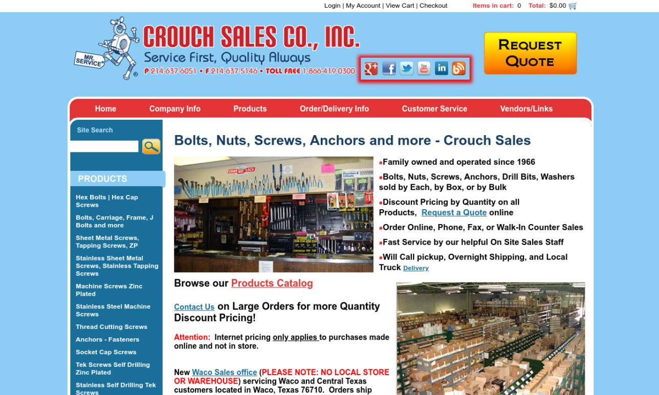 Crouch Sales Co., Inc.