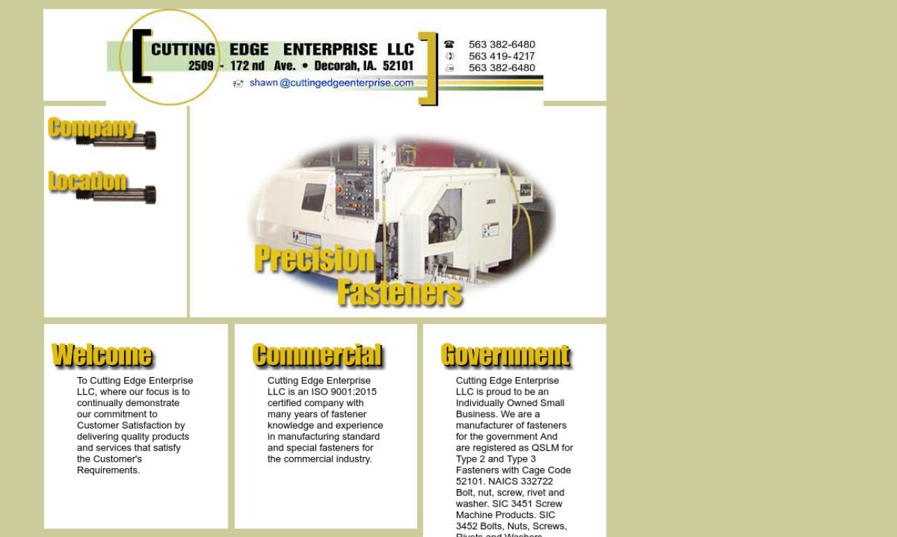 Cutting Edge Enterprise, LLC