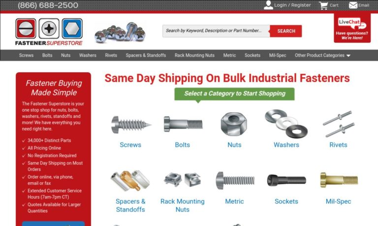 Fastener SuperStore, Inc.