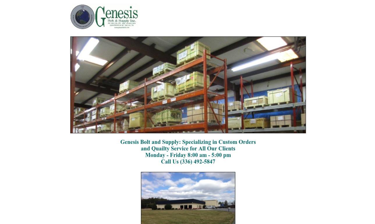 Genesis Bolt & Supply