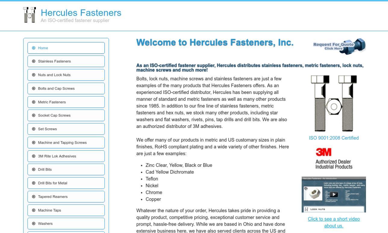 Hercules Fasteners