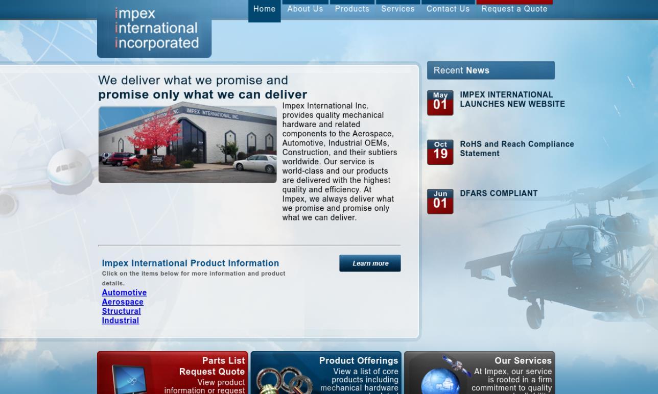 Impex International, Inc.
