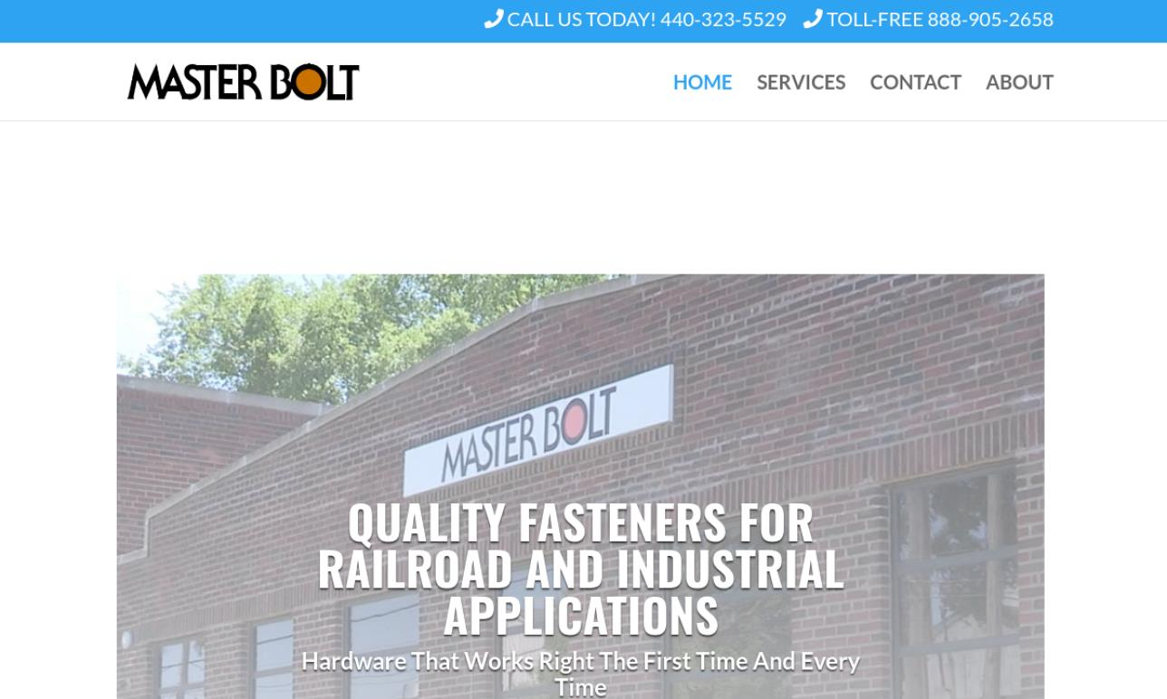 Master Bolt Manufacturing, Inc.