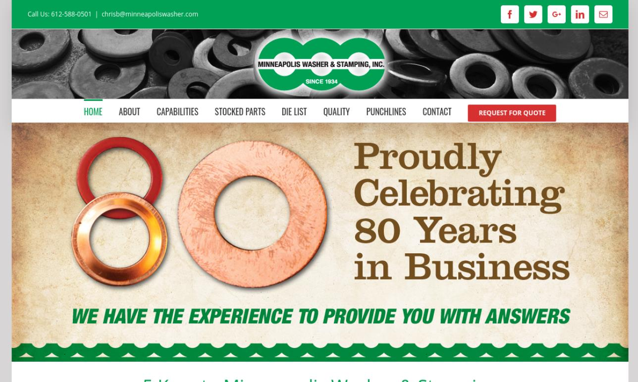 Minneapolis Washer & Stamping, Inc.