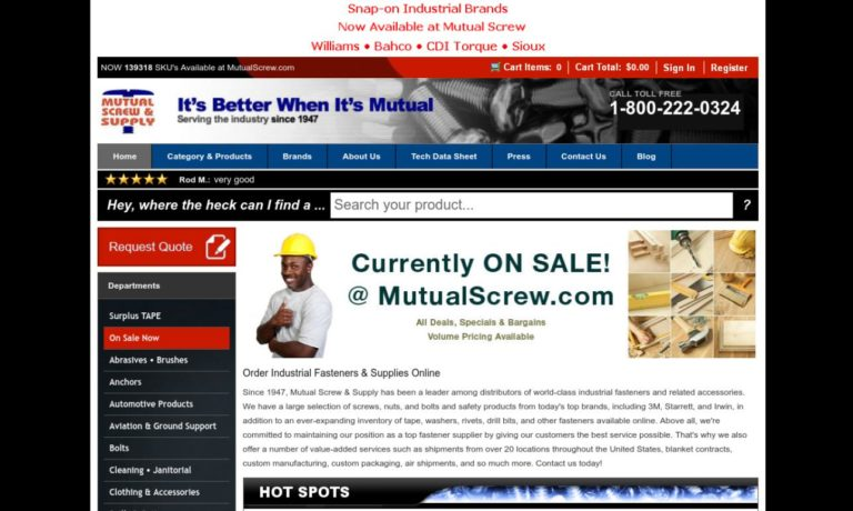Mutual Screw & Supply