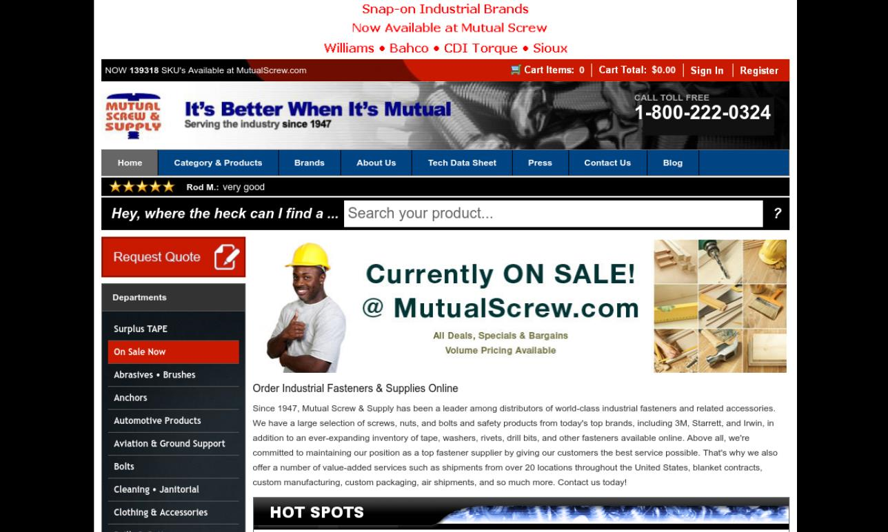 Mutual Screw & Supply