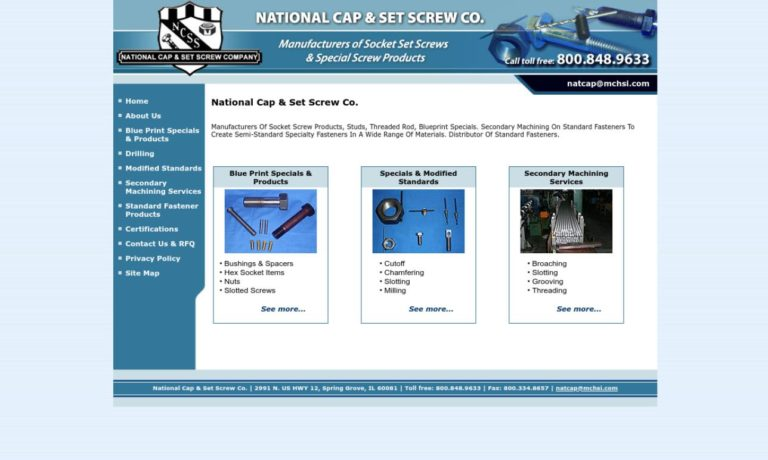 National Cap & Set Screw Company