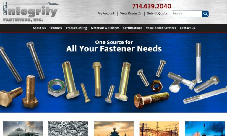 Integrity Fasteners, Inc.