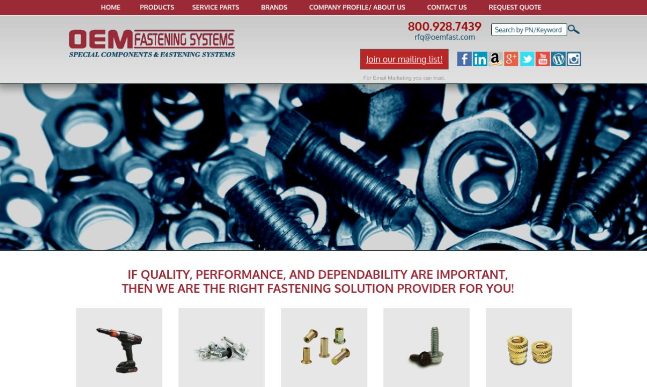 O.E.M. Fastening Systems