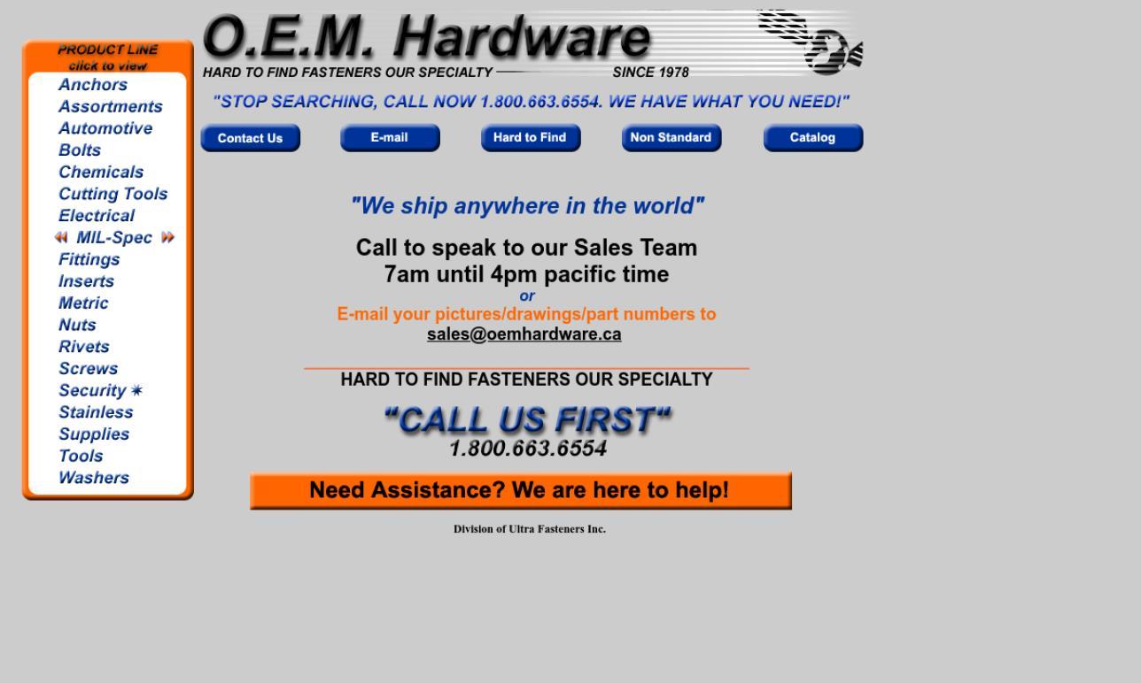O.E.M. Hardware