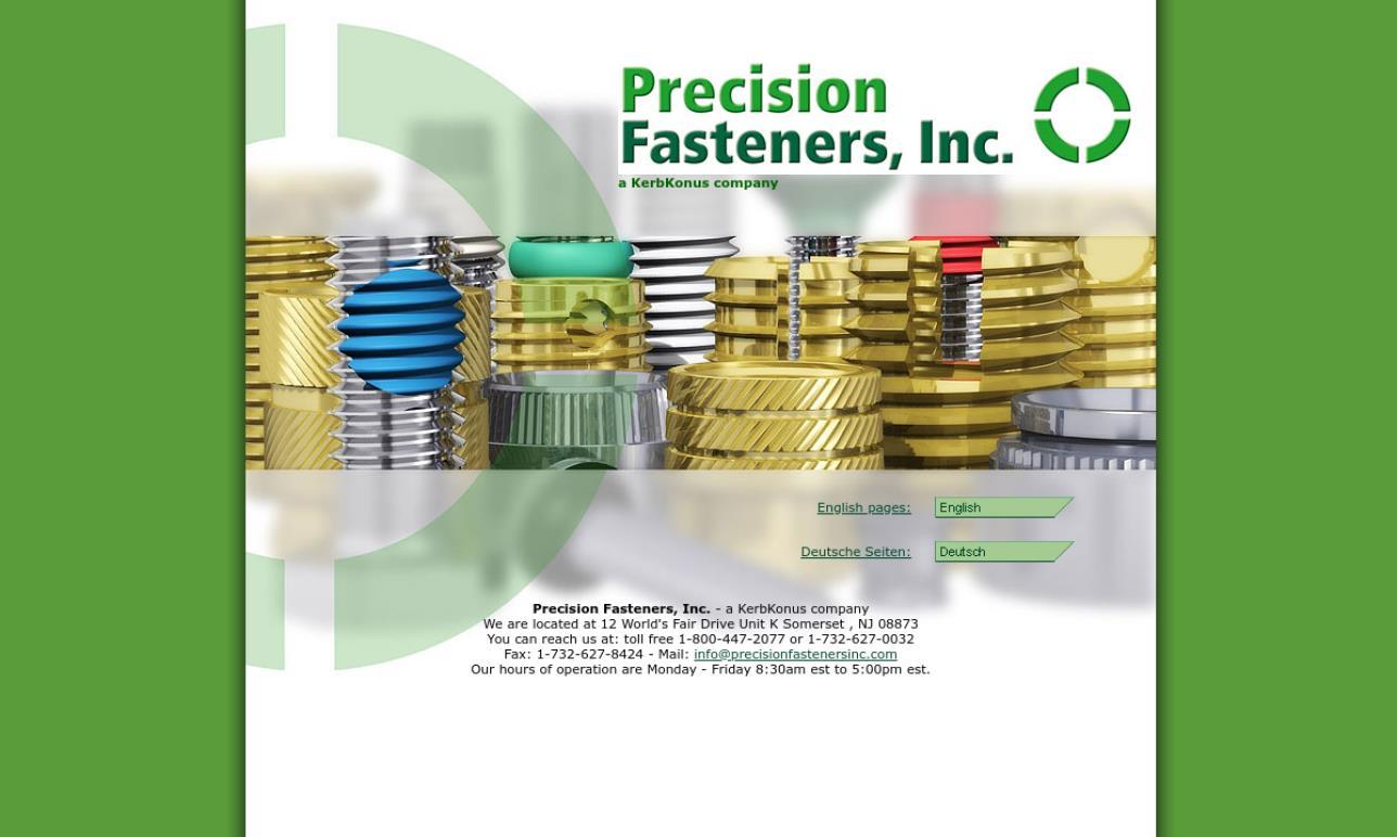 Precision Fasteners, Inc.