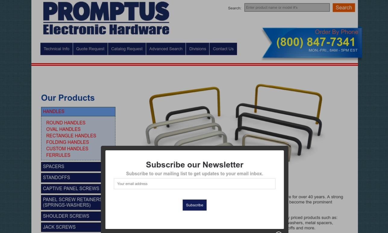 Promptus Electronic Hardware