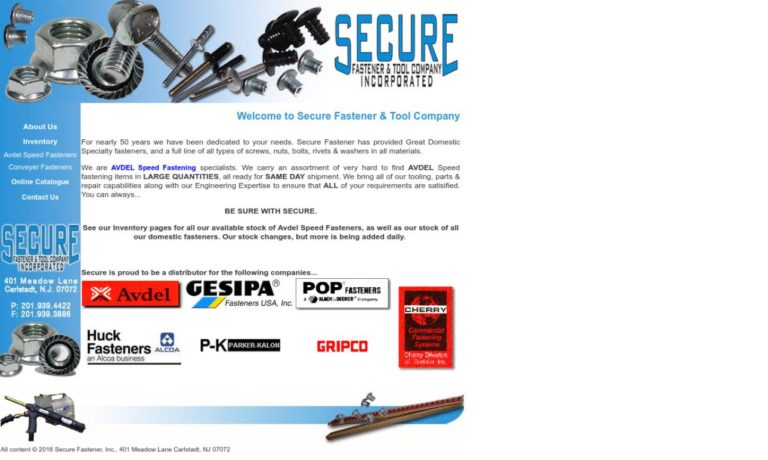 Secure Fastener & Tool Company