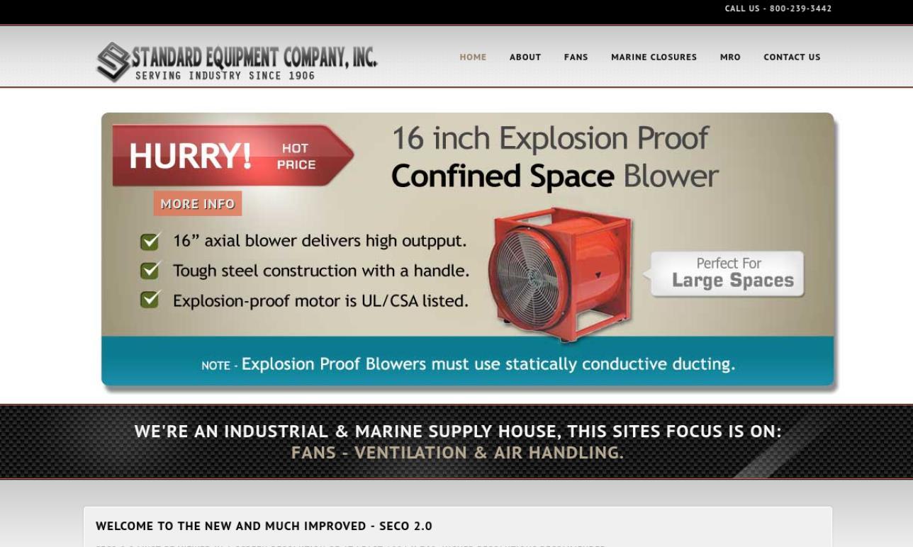 Standard Equipment Company, Inc.
