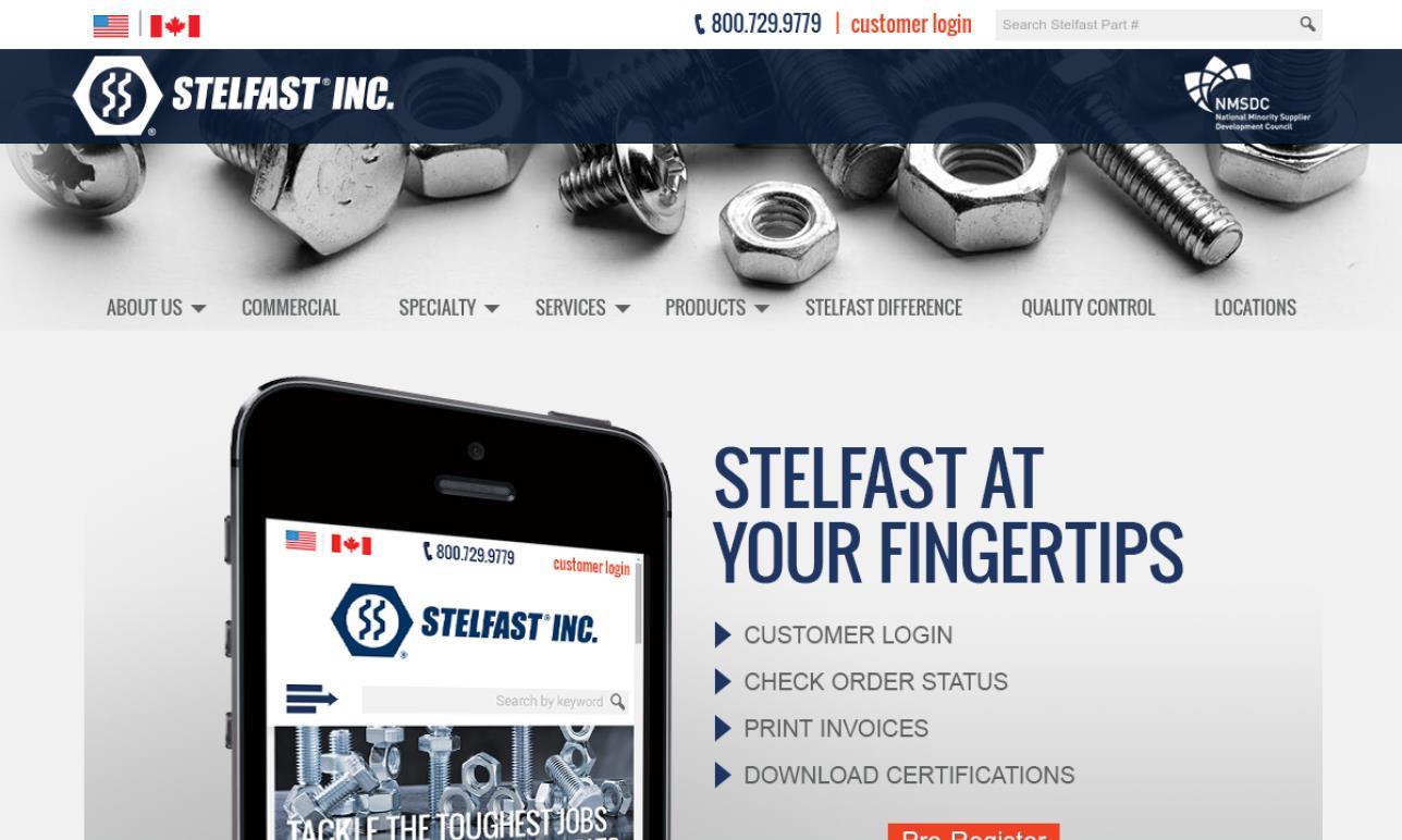 Stelfast® Inc.