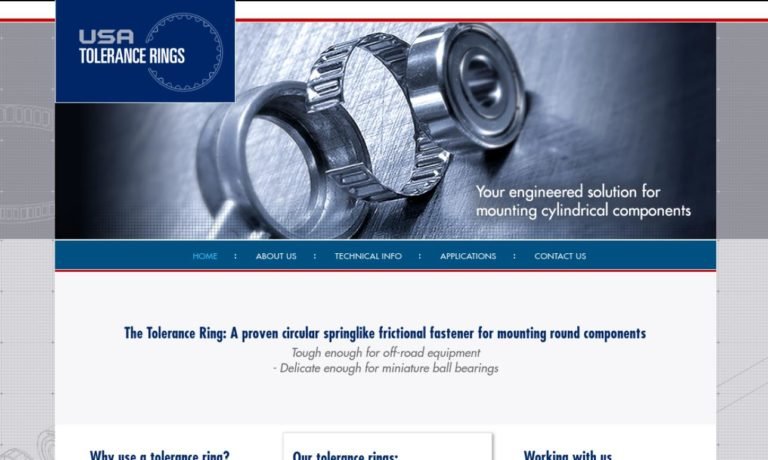 USA® Tolerance Rings