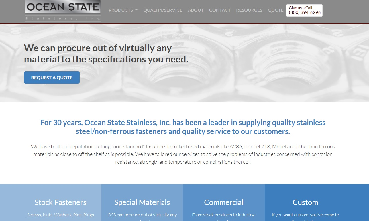 Ocean State Stainless, Inc.